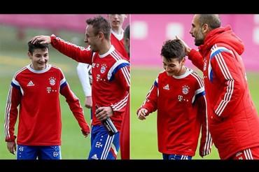 Niño de 15 años ya entrenó con el Bayern Munich