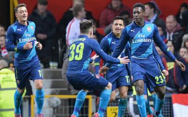 El Arsenal deja al Manchester United fuera de la FA Cup