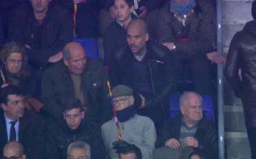 Guardiola, espectador de lujo en el Camp Nou