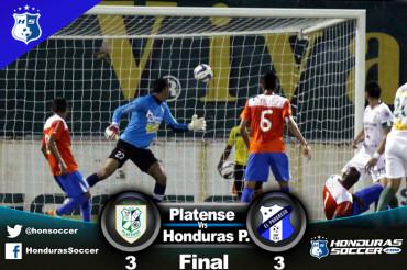 Honduras Progreso le saco de la bolsa el triunfo al Platense