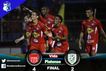 El Vida consigue su segunda victoria consecutiva venciendo al Platense