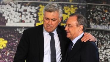 """Florentino Pérez: """"Pase lo que pase, Ancelotti seguirá"""""""