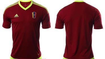 Así es la camiseta que usará Venezuela en la Copa América 2015