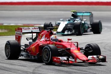 Vettel dio un golpe de autoridad para Ferrari en Malasia