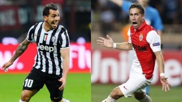 Juventus se enfrenta a un Monaco que es revelación en la Champions