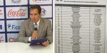 Jorge Luis Pinto hace convocatoria oficial para la Selección Sub-23