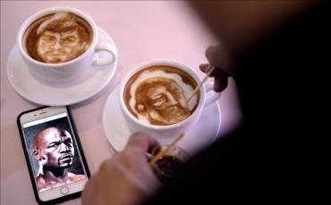 El combate Mayweather-Pacquiao, en los cafés
