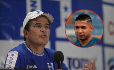 """Jorge Luis Pinto: """"Me tiene totalmente sorprendió esa solicitud de Emilio Izaguirre"""""""