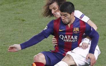 """David Luiz habla de los túneles: """"Solo le pasa a quién está arriba"""""""