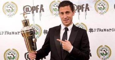 Eden Hazard nombrado mejor jugador de la Premier League