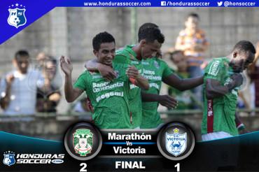 Marathón vuelve a la senda del triunfo al vencer al Victoria
