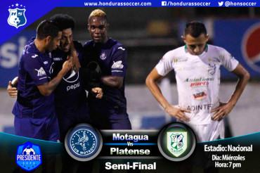 Motagua por la remontada ante Platense en la Semifinal de Copa Presidente