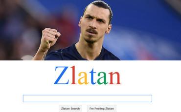 Zlatan Ibrahimovic ya tiene su propio motor de búsquedas