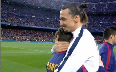 Ibra y Messi se reencuentran en el Camp Nou