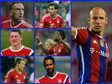 Los lesionados del Bayern de Múnich que no estarán ante el Barça