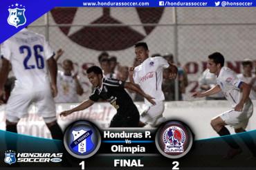 Olimpia no suelta el liderato tras vencer al Honduras Progreso