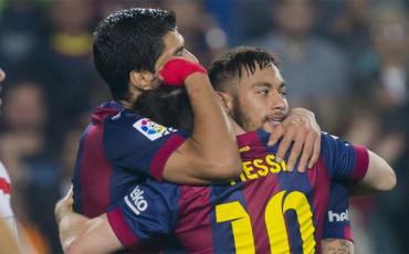 Messi, Neymar y Suárez: un tridente a ritmo de récord