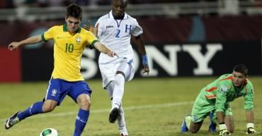 La Sub 20 de Honduras se enfrente mañana a Brasil en amistoso