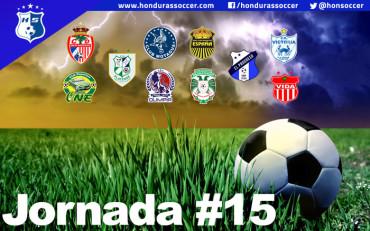 Lista la Jornada #15 del Torneo de Clausura de la Liga Nacional