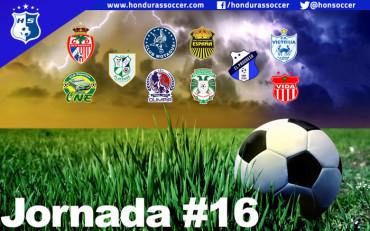 Lista la Jornada #16 del Torneo de Clausura de la Liga Nacional