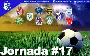 Lista la Jornada #17 del Torneo de Clausura de la Liga Nacional