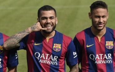Dani Alves se va del Barcelona