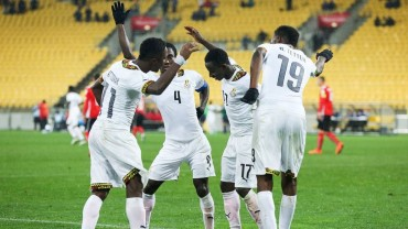 Ghana le saca el triunfo de la bolsa a Austria