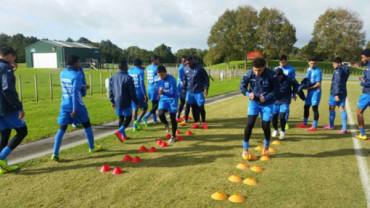 Sub-20 de Honduras completó su tercer día de entrenamiento en Oceanía