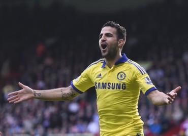 Chelsea logró que redujeran sanción a Cesc Fábregas