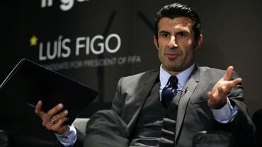 Luis Figo renunció a candidatura de FIFA