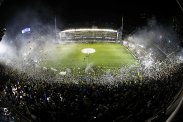 El estadio de Boca Juniors la Bombonera, queda clausurado