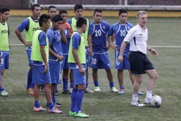 El Salvador inició trabajos para preparar el amistoso contra Honduras