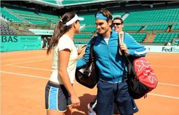 Federer criticó seguridad en Roland Garros