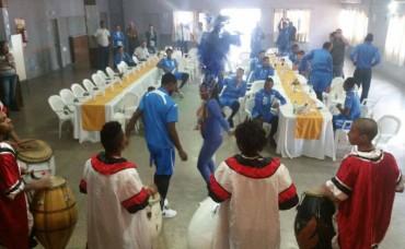 Con asado y baile despiden a lo grande a la Sub-20 de Honduras