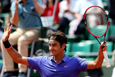 Federer y Tsonga, a tercera ronda de Roland Garros