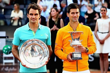 Djokovic y Federer dominan ranking ATP