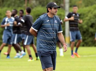 Diego Vázquez analiza la eliminación de la Copa Presidente