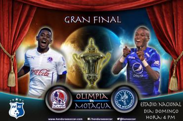 Motagua y Olimpia a darlo todo por la Copa del Torneo de Clausura