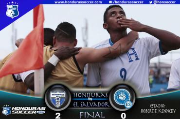 Honduras le gana a El Salvador en un juego de carácter amistoso