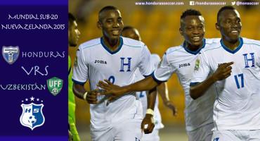 Honduras Sub-20 a debutar con pie derecho en el Mundial de Nueva Zelanda