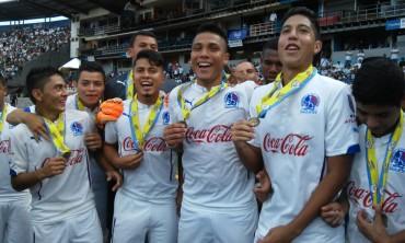 Olimpia reservas se corona Tri-campeón