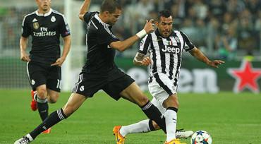 Juventus ganó 2-1 al Real Madrid con gol de Carlos Tévez