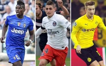 Pogba, Verratti y Reus, el sueño de Florentino para el Madrid