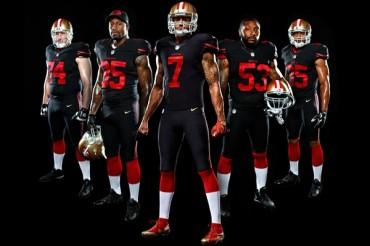 Los 49ers vestirán de negro en 2015