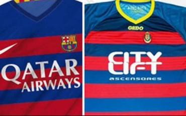 Nike pidió a la UE Llagostera que cambiara su camiseta