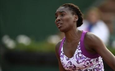 Multa de 3.000 dólares para Venus Williams en Roland Garros