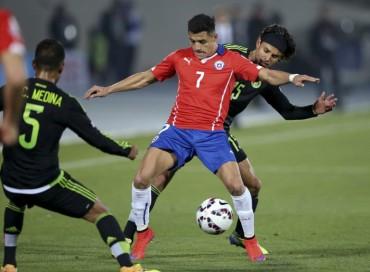 México puso a sufrir a la Selección de Chile en casa