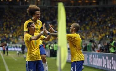 Brasil le ganó a México en Sao Paulo en amistoso