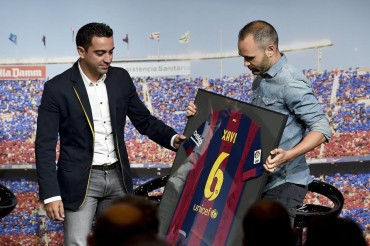 Xavi Hernández se despidió de manera oficial del FC Barcelona