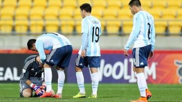 Argentina dice adiós al Mundial Sub-20 de Nueva Zelanda